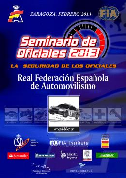 Rallyes  - Real Federación Española de Automovilismo