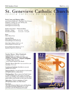 St. Genevieve Catholic Church - St. Genevieve`s Catholic Church