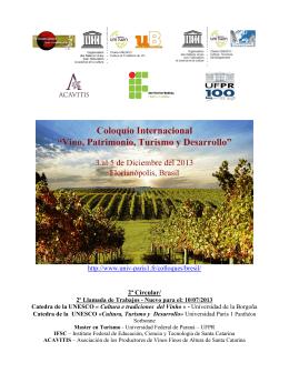 http://www.univ-paris1.fr/colloques/bresil/ 2ª Circular/