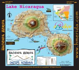 Mapa ometepe 1