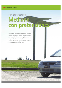 Fiat Stilo Connect