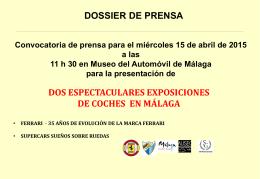 Dossier prensa – ferrari + supercars – pdf