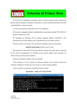 Solución al Primer Reto - Administración de Sistemas Operativos