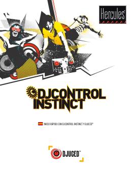 INICIO RÁPIDO CON DJCONTROL INSTINCT Y