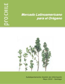 Mercado Latinoamericano para el Orégano