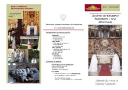 Esclavas del Santísimo Sacramento y de la Inmaculada