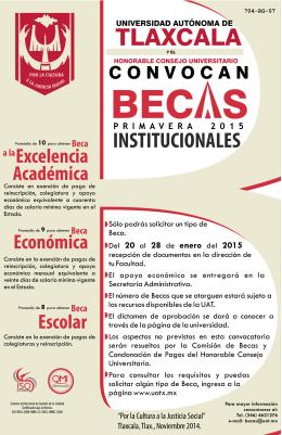 2015 - Universidad Autónoma de Tlaxcala