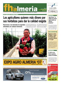 Noviembre 2007 - Frutas y Hortalizas de Almería