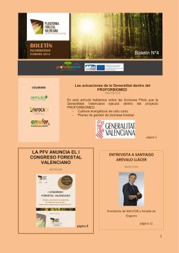 Febrero - Plataforma Forestal Valenciana
