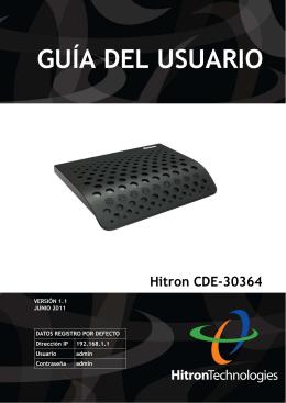 Hitron CDE-30364