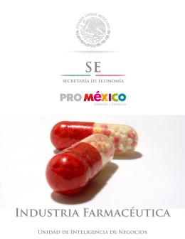 Industria Farmacéutica - Mapa de Inversión en México