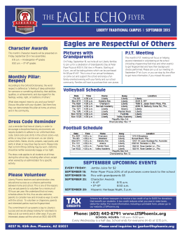 THE EAGLE ECHO FLYER
