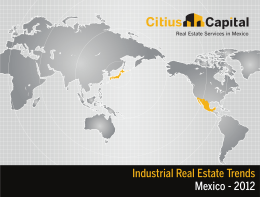 Mapa PDF - Citius Capital/CORFAC International