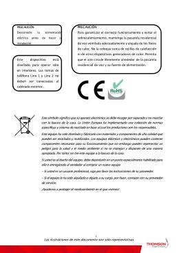 Manual del fabricante TWG 850