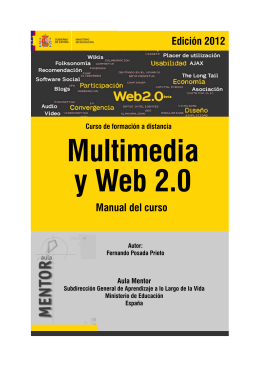 Multimedia y Web 2.0