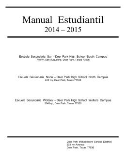 Manual Estudiantil