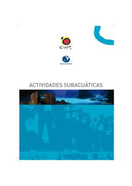 ACTIVIDADES SUBACUÁTICAS - Estaciones Náuticas de Menorca
