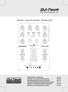 Midi Controller DJM-101