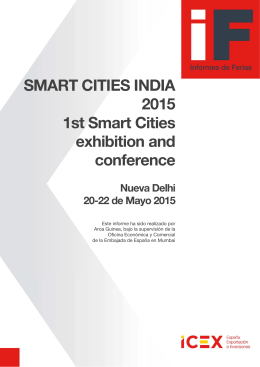 Informes de Smart Cities Delhi 2015 Final ok icex
