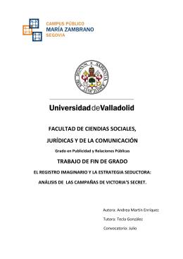facultad de ciendias sociales, jurídicas y de la