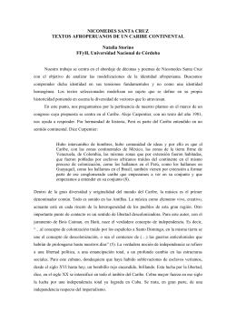 Nicomedes Santa Cruz: Textos afroperuanos de un