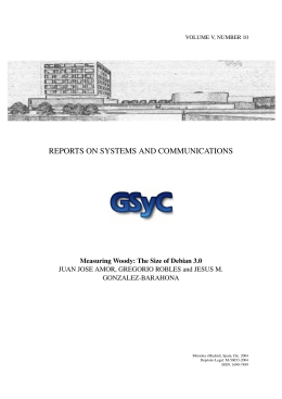 REPORTS ON SYSTEMS AND COMMUNICATIONS