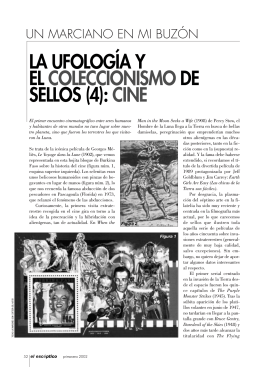 LA UFOLOGÍA Y EL COLECCIONISMO DE SELLOS (4): CINE