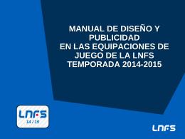 manual equipaciones deportivas 2014-2015.
