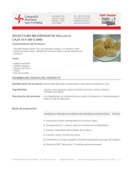 (899) Descargar PDF - molinera san cristobal