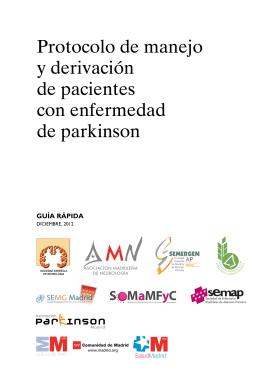 Guía Rápida de la Enfermedad de Parkinson de la Comunidad de