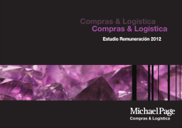 Estudio de Remuneración Compras y Logistica