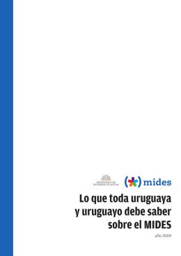 Lo que toda uruguaya y uruguayo deben saber sobre el MIDES?