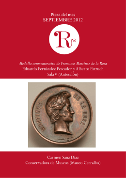 Medalla conmemorativa de Francisco Martínez de la Rosa