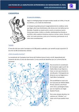 CASSIOPEIA - Agrupación Astronómica de Manzanares el Real