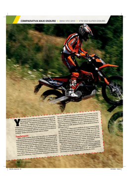 comparativa maxi enduro > bmw hp2 1200 > ktm