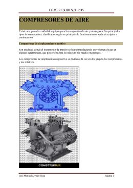 compresores, tipos - TEMARIOS FORMATIVOS PROFESIONALES