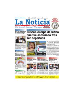 Accidentes - La Noticia - The Spanish