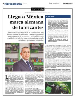 Llega a México marca alemana de lubricantes