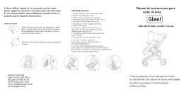 Manual de instrucciones para coche de bebé