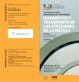 Curso Mácula Instituto Barraquer - Instituto Oftalmológico Gómez-Ulla