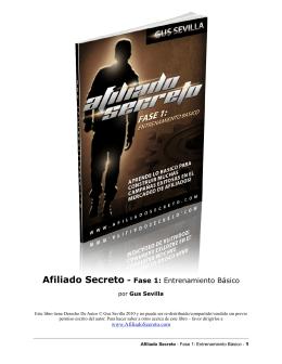 Afiliado Secreto - Fase 1: Entrenamiento Básico