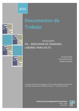 DT 2010Nº2 - Piselli-Romero-Carrazán