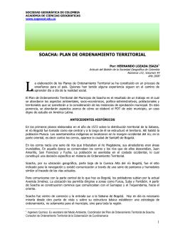 soacha - Sociedad Geográfica de Colombia