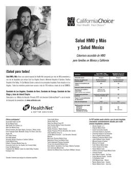 CaliforniaChoice—Salud HMO y Más y Salud Mexico (CC0194SP)