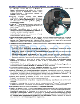 información técnica - Centro Internacional de Restauración