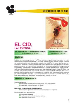 EL CID, LA LEYENDA - Aprendiendo con el cine europeo