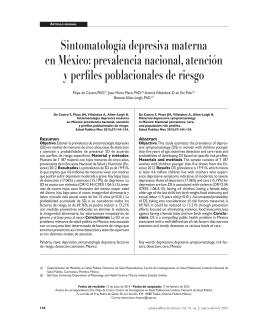 Descargar artículo en PDF - Instituto Nacional de Salud Pública
