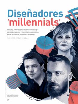 Diseñadores millennials
