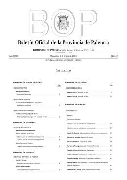 Boletín Oficial del 5 de Enero 2005