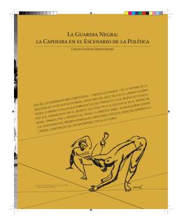 La Guardia Negra - La Capoeira en El Escenario de la Política